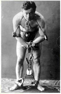 Houdini-w-lancuchach